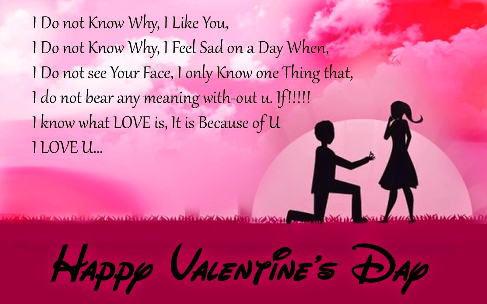 Amazing Happy Valentines Day For your Husband