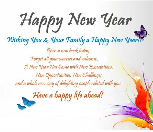 Happy New Year Wishes And New Year\'s Messages