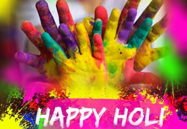 Happy Holi Sms in English, Happy Holi Quotes in English