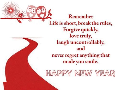 Charming Happy New Year Sms
