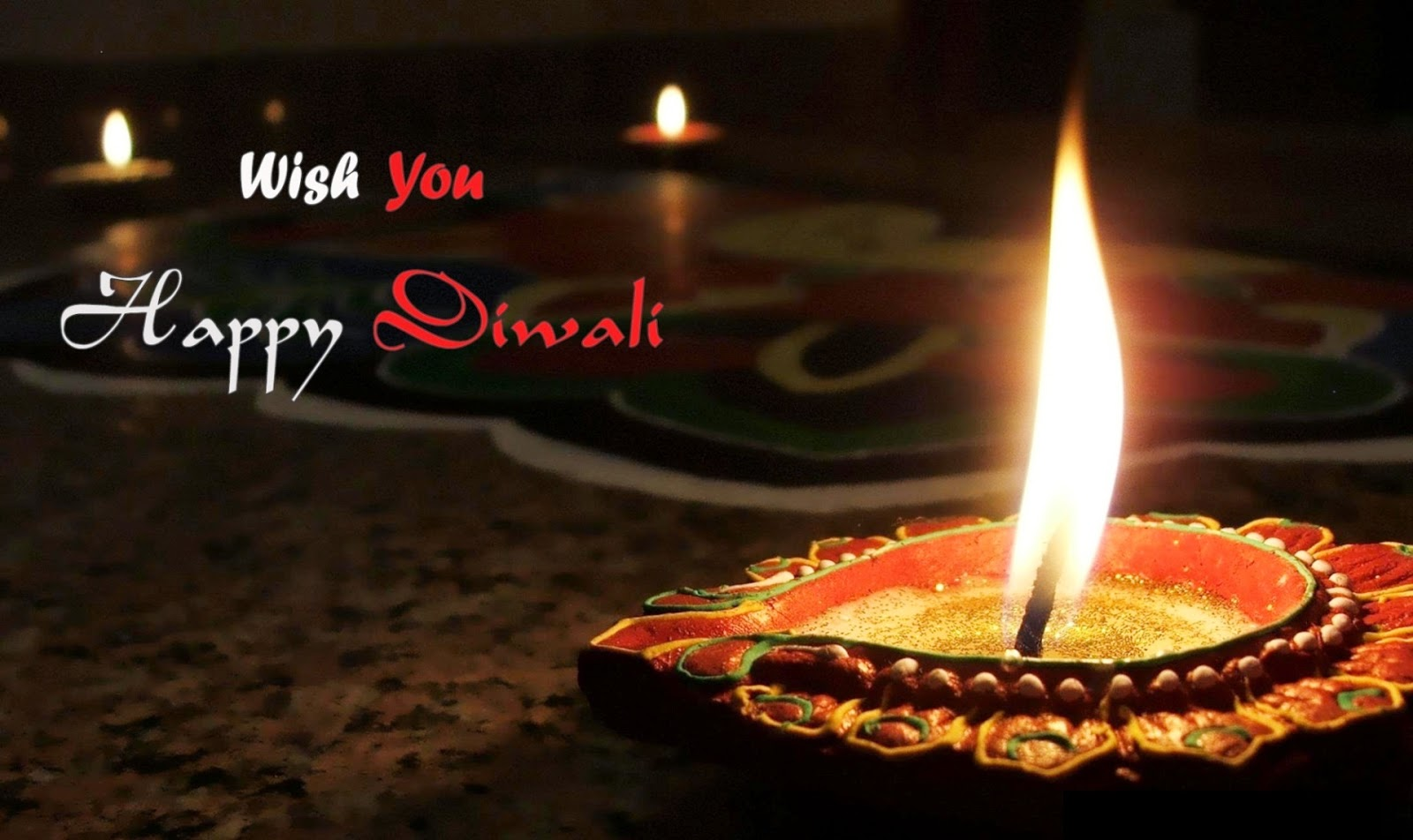 Happy Diwali Festival The Festival Of Lights And Colors Is For One