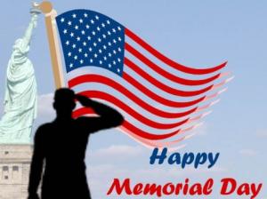 Happy Memorial Day Greetings 2016