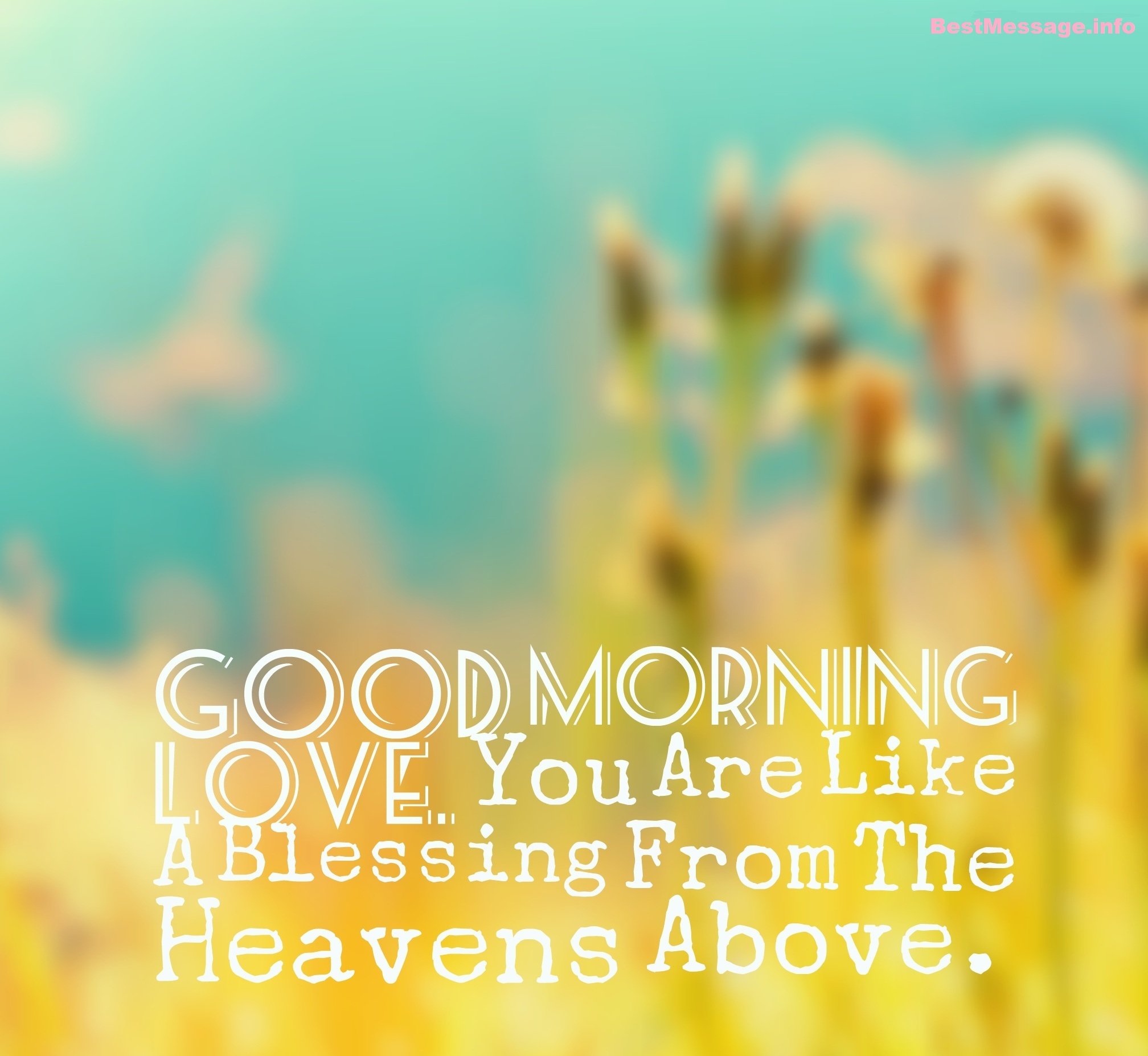 Sweet Good Morning Messages Collection For Her
