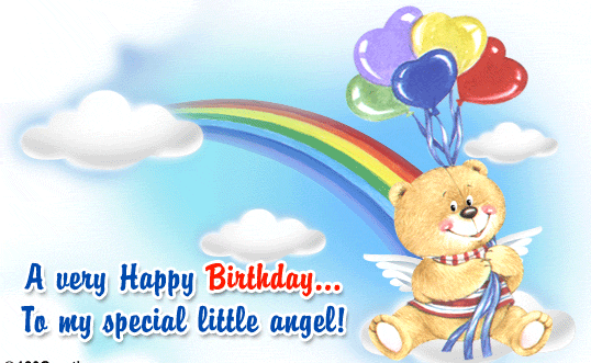 my super cute birthday wishes