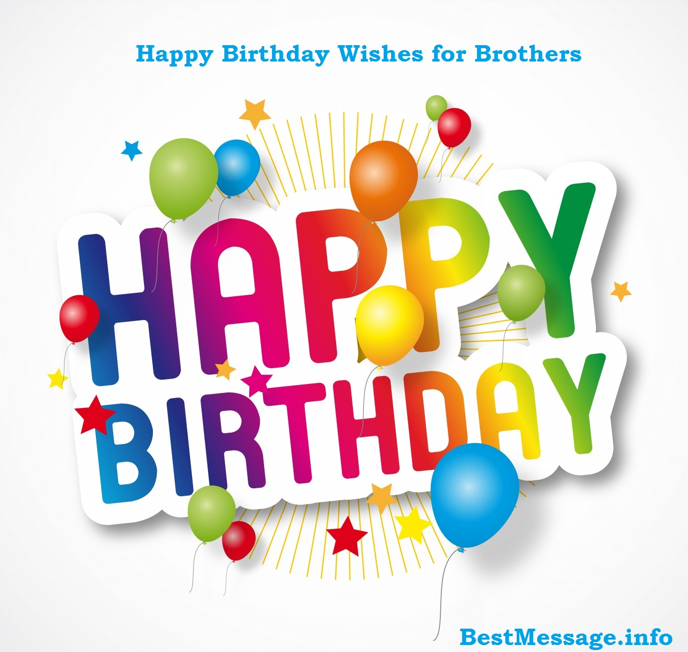 Happy birthday wishes to brother bestmessage happy birthday wishes to brother kristyandbryce Image collections