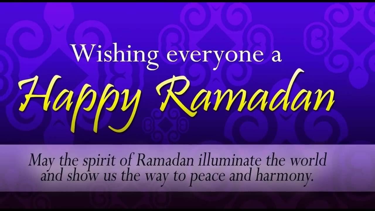 Ramadan Messages 2017)