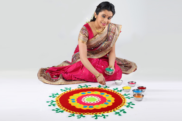 rangoli messages